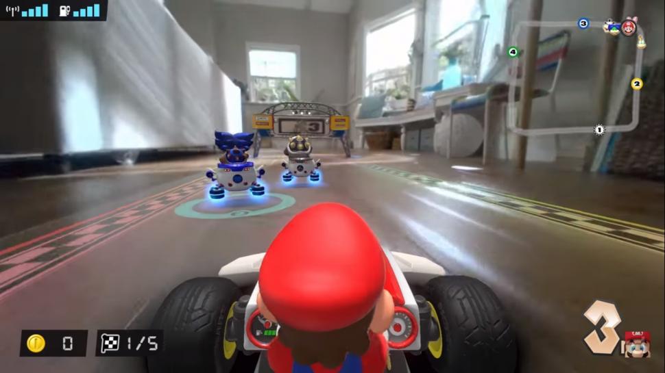 Mario Kart Live: Home Circuit. (Nintendo)