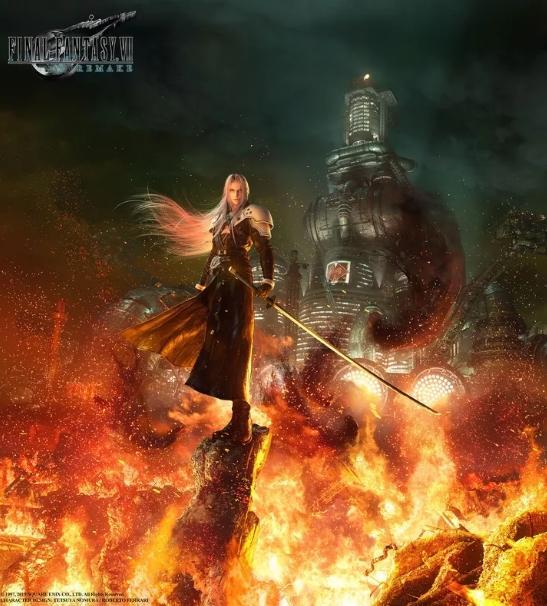Final Fantasy 7 Remake. (Square Enix)