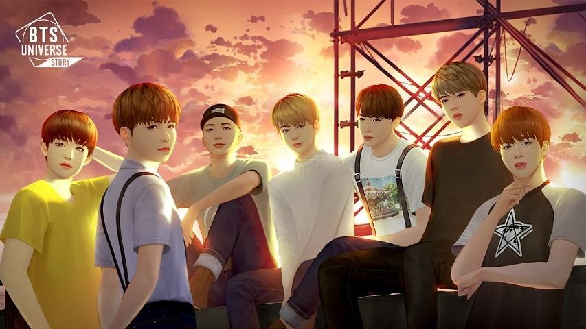 BTS Universe Story. (Netmarble)