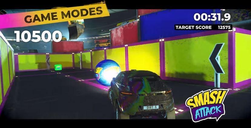 Mode Smash Attack Dirt 5 anyar. (YouTube/ DIRT)