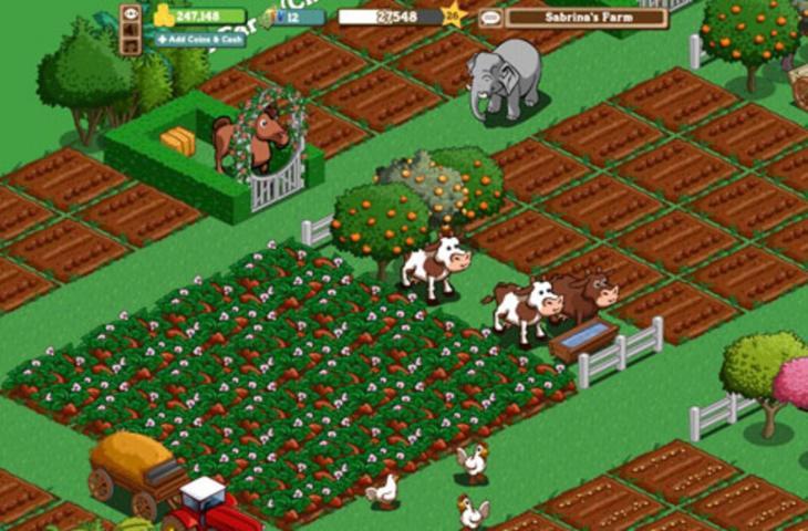 FarmVille. (Zynga)