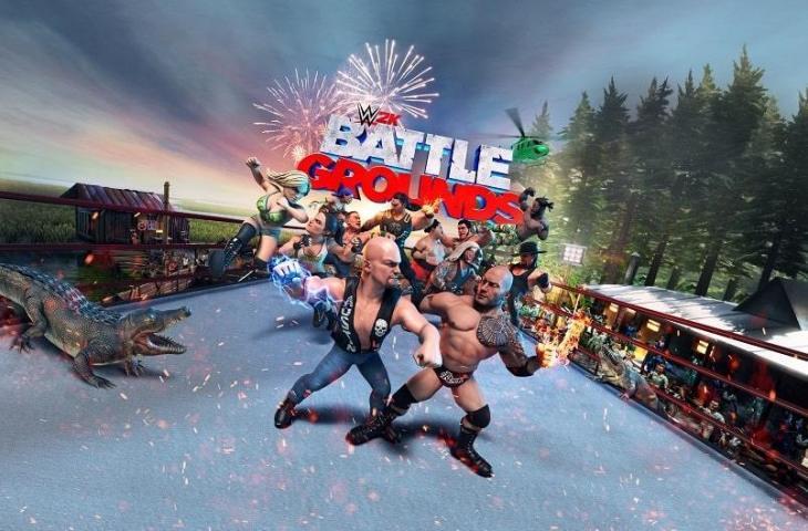 WWE 2K Battlegrounds. (2K)