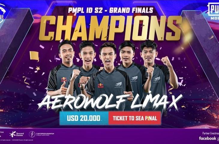 PUBG Mobile Pro League Indonesia Season 2. (PUBG Mobile)