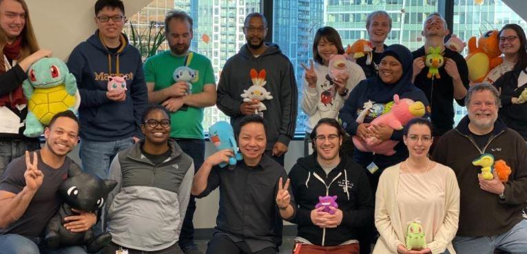 Niantic Labs berpose saat merayakan ulang tahun. (Twitter/ NianticLabs)