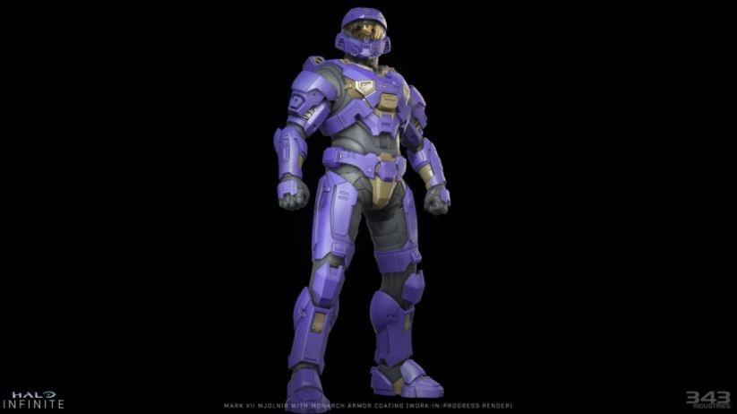 Mark VII Mjolnir dengan Monach Armor. (Halo Infinite)