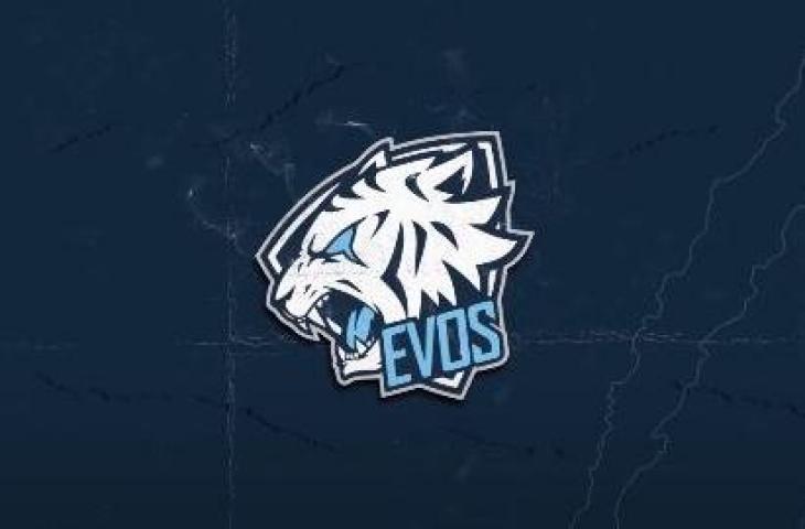 Logo EVOS. (EVOS TV)