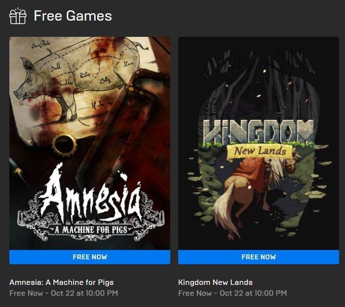 Amnesia A Machine for Pigs dan Kingdom New Lands jadi game gratis di Epic Games Store. (Epic Games Store)