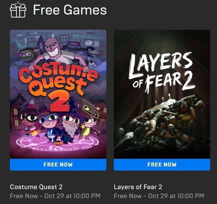 Costume Quest 2 dan Layers of Fear 2 Jadi Game Gratis di Epic Games Store. (Epic Games Store)
