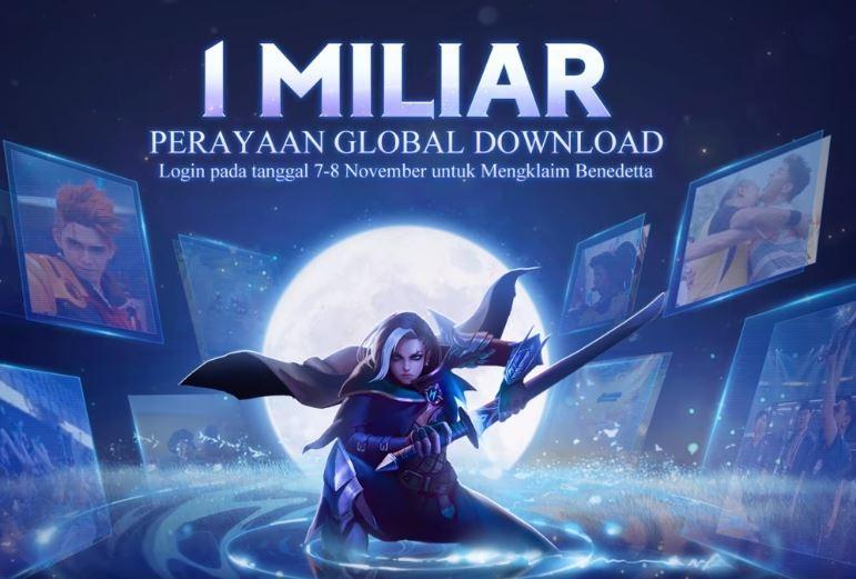Mobile Legends telah didownload 1 miliar kali. (Facebook/ Mobile Legends Bang Bang)