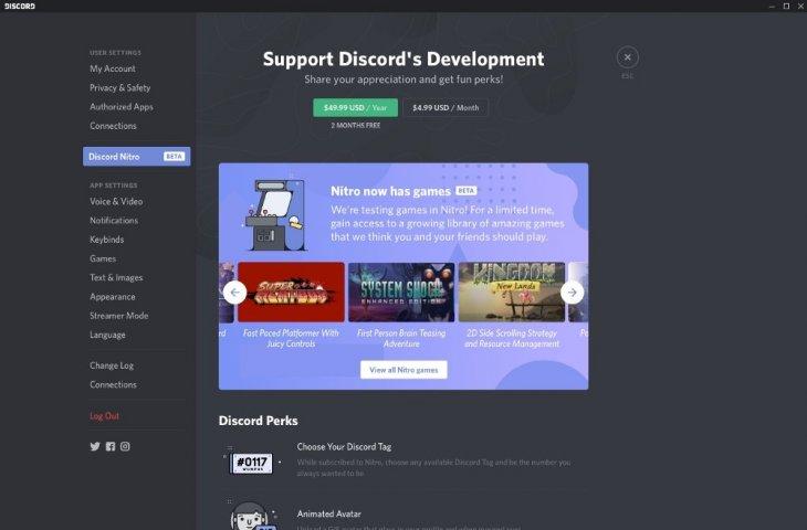 Discord Store. (discordapp.com)