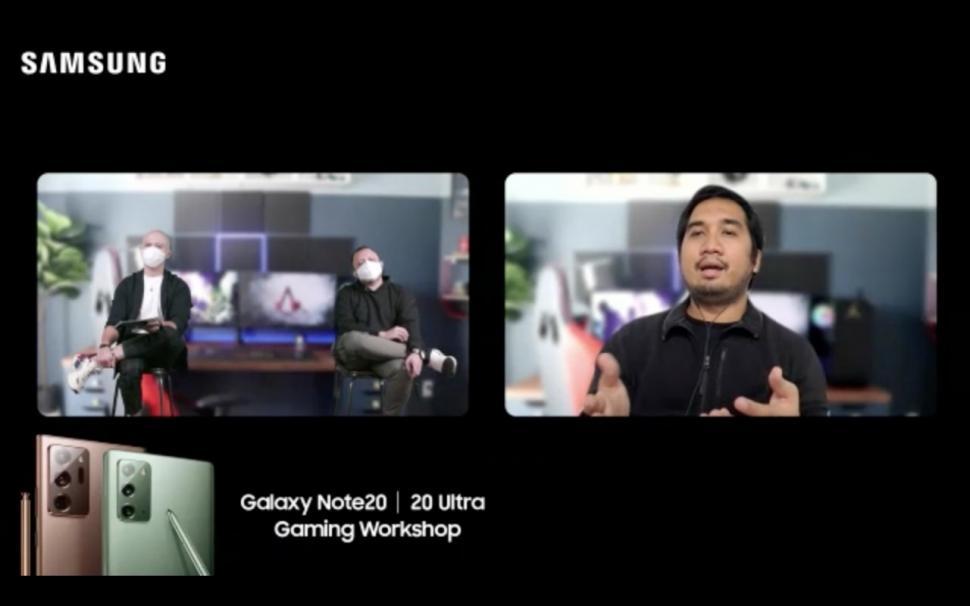 Gamer pokopow bagikan pengalaman main game Samsung Galaxy Note20 Series.(Samsung)