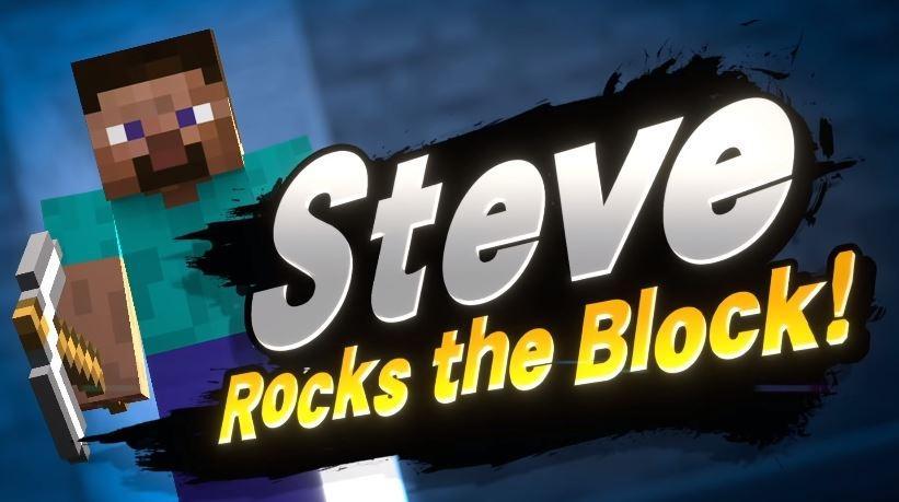 Steve akan datang ke Super Smash Bros Ultimate. (Smashbros.com)