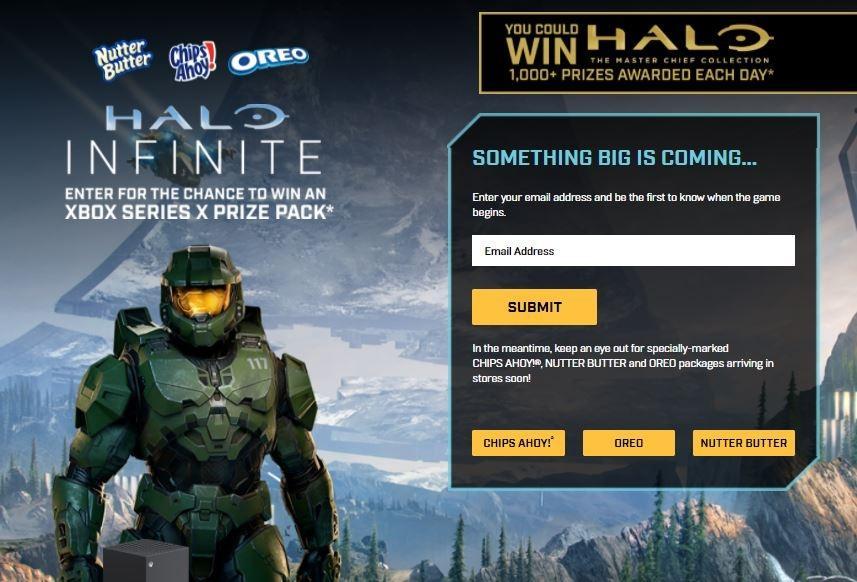 Halo Infinite bekerja sama dengan perusahaan makanan ringan untuk menghadirkan DLC anyar. (www.nabiscoxbox.com)