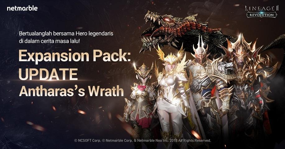 Lineage2 Revolution Dapatkan Expansion Pack Pertama, Antharas's Wrath. (Netmarble)