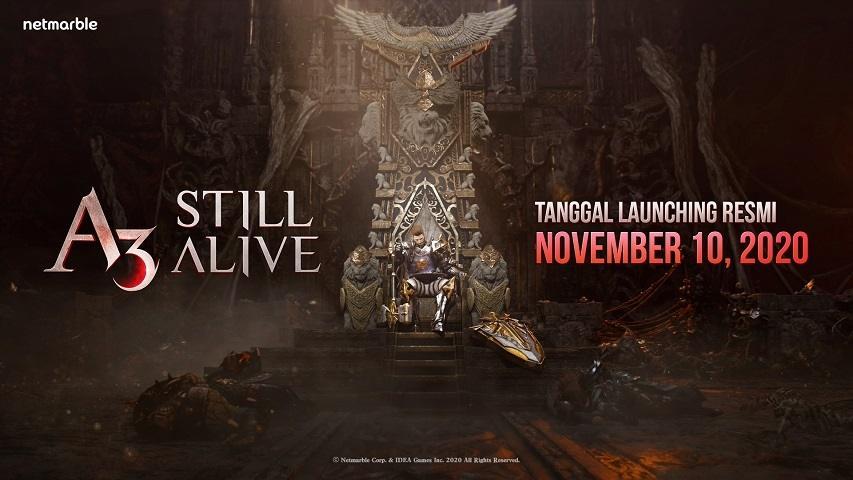 A3: STILL ALIVE MMORPG. (Netmarble)