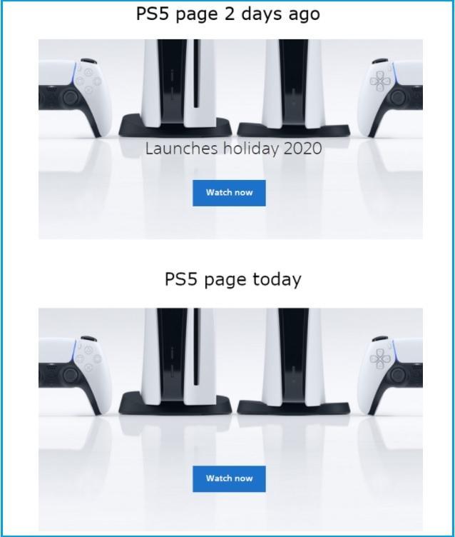 Sony Hapus tanggal peluncuran dari situs PlayStation beberapa negara. (