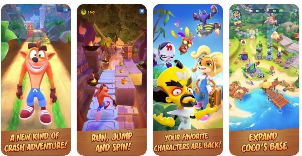 Crash Bandicoot On the Run. (apps.apple.com)