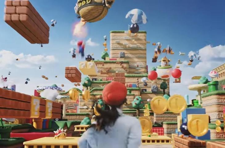 Super Nintendo World. (YouTube/Nintendo)