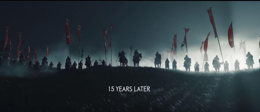 Trailer Ghost of Tsushima. (YouTube/ PlayStation Europe)