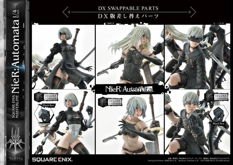 Figure NieR Automata versi DX. (Square Enix)