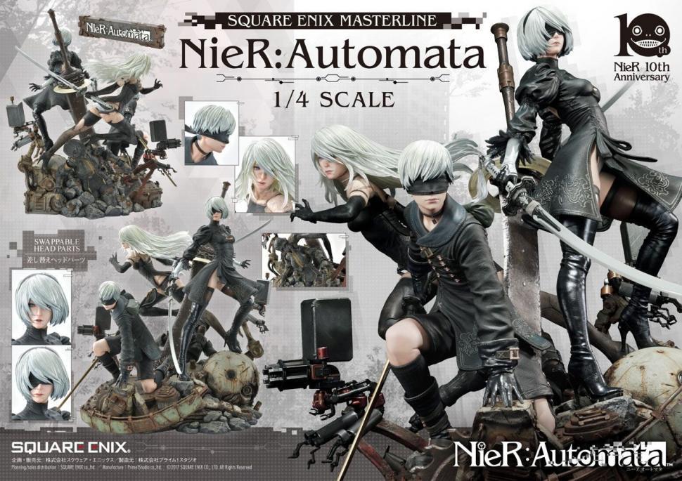 Figure NieR Automata versi standar. (Square Enix)