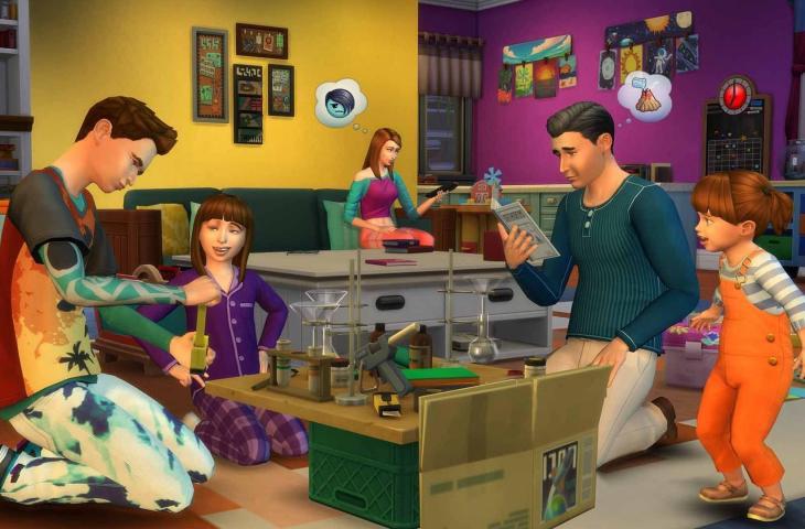The Sims 4. (Origin)