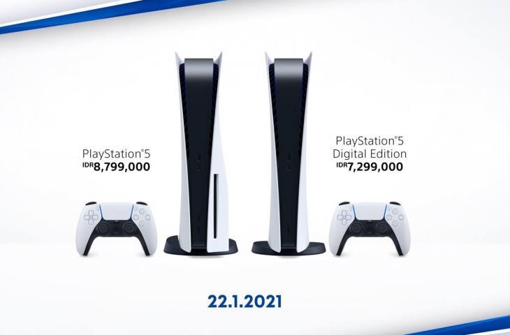 Harga PS5. (PlayStation Asia)