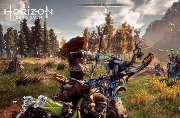 Horizon Zero Dawn. (PlayStation)
