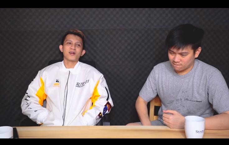 RRQ Xin tampil di Empetalk. (youtube/Jonathan Liandi)