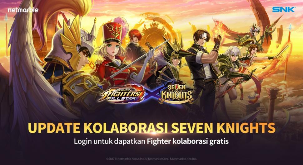 Update baru The King of Fighters ALLSTAR. (Netmarble)
