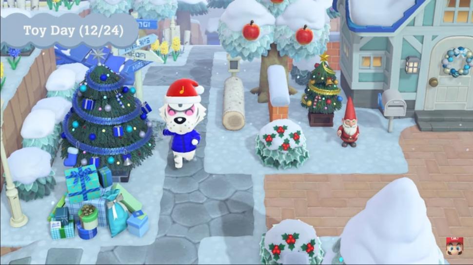 Animal crossing seri Natal. (Nintendo)