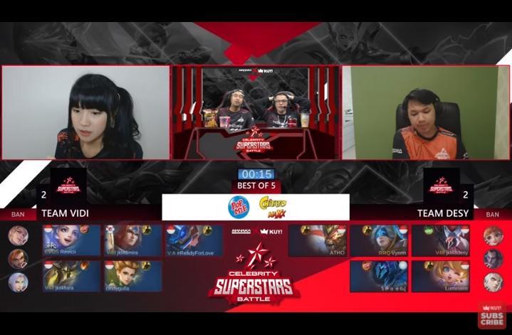 Celebrity Superstars Battle. (youtube/KUY Entertainment)