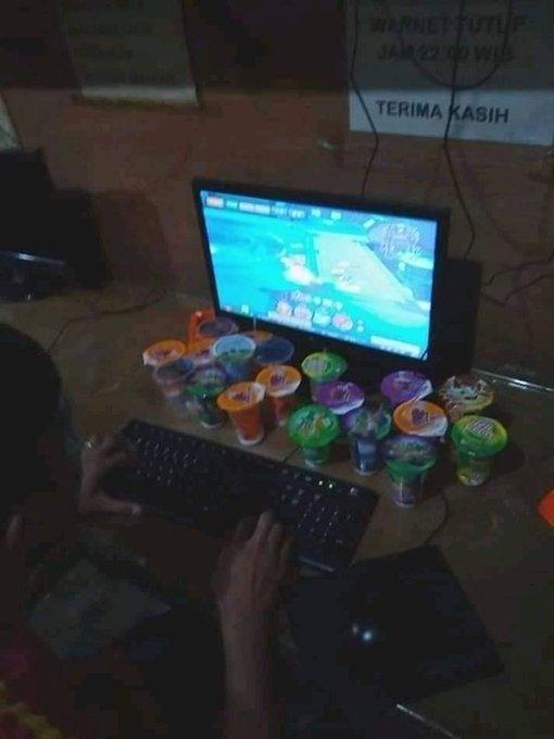 Potret gamer. (Twitter/@GamesMenfess)