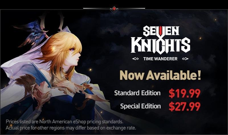 Seven Knights Time Wanderer. (Netmarble)
