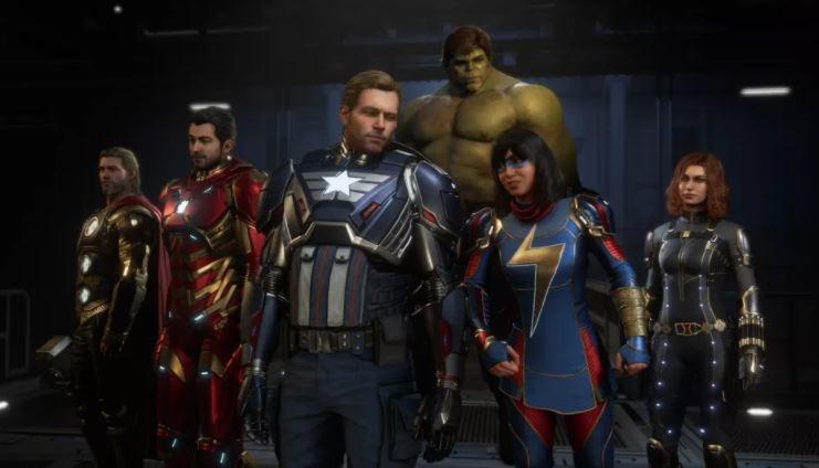 Deretan hero di game Marvel's Avengers. (Square Enix)