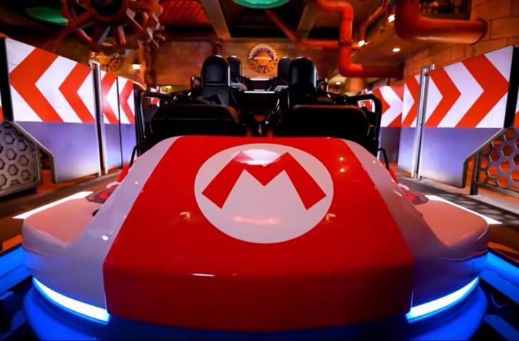 Super Nintendo World. (YouTube/Universal Studios Japan Official)