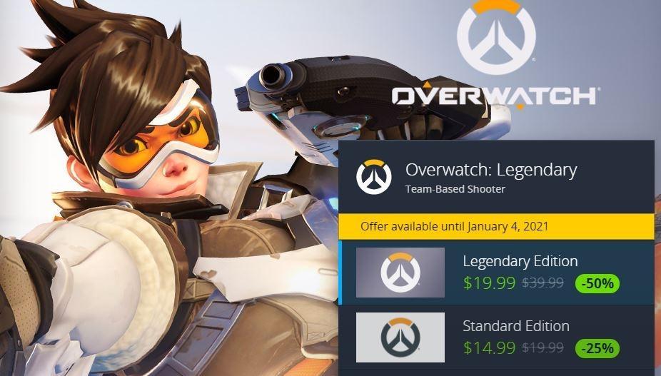 Overwatch dapat diskon hingga awal 2021. (Battle.net)
