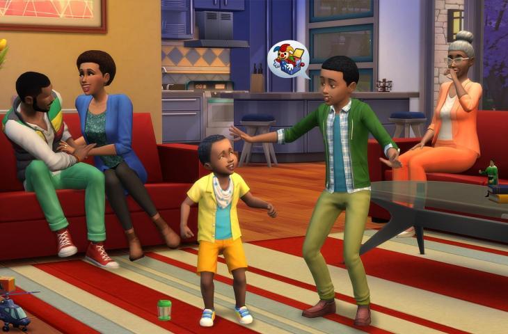 The Sims 4. (Steam)