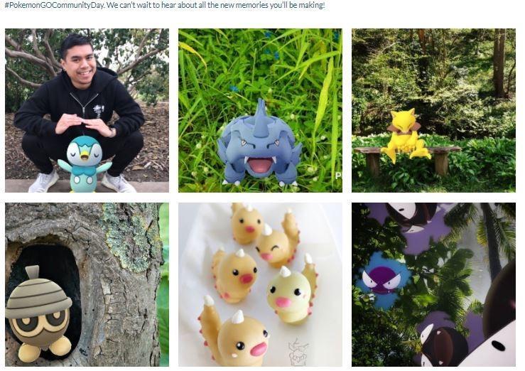 Momen pada Community Day Pokemon Go. (Pokemongolive)