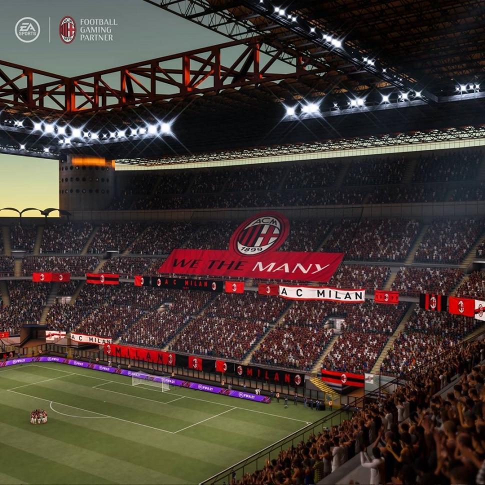 AC Milan eksklusif untuk FIFA 21. (EA Sports)