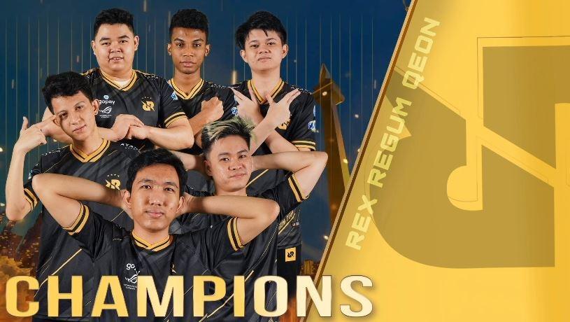 RRQ meraih juara MPLI. (YouTube/ Mobile Legends Bang Bang)