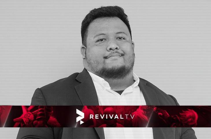 Frans Volva Riyando, caster senior RevivalTV. (RevivalTV)