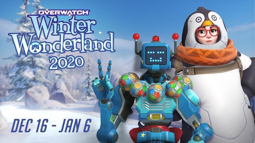 Overwatch Winter Wonderland 2020. (Blizzard)