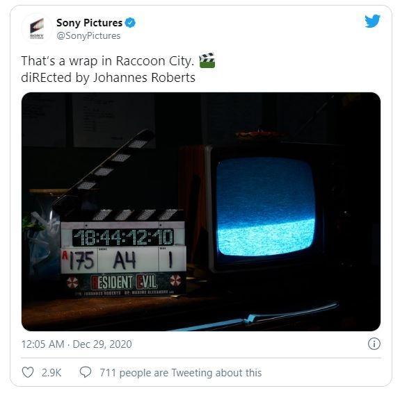 Teaser film sebagai adaptasi game Resident Evil. (Twitter/ SonyPictures)