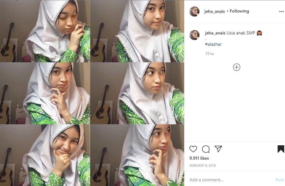 Profil foto SMP Jeha Anais. (Instagram/ @jeha_anais)