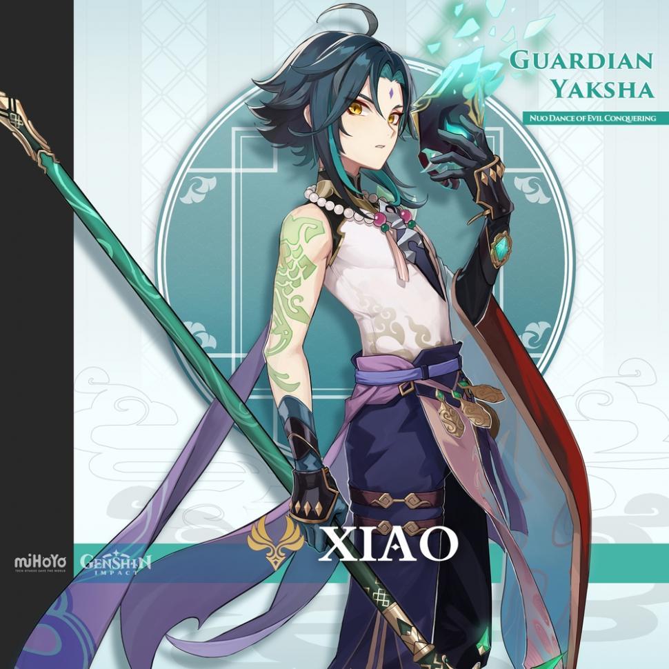 Karakter Genshin Impact - Xiao. (miHoYo)