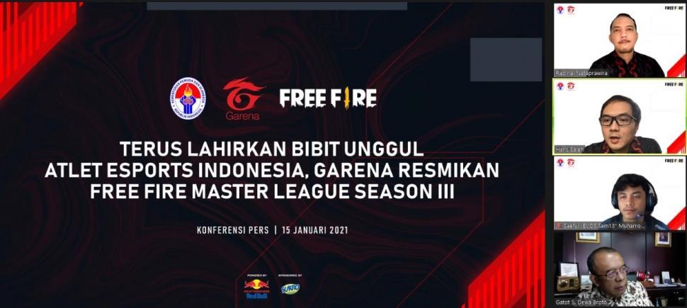 Pembukaan Free Fire Master League Season III. (Garena)