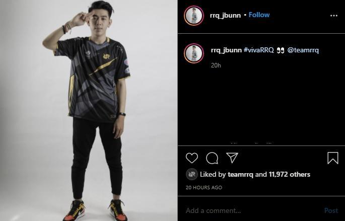 Jbun gabung RRQ. (instagram/rrq_jbunn)