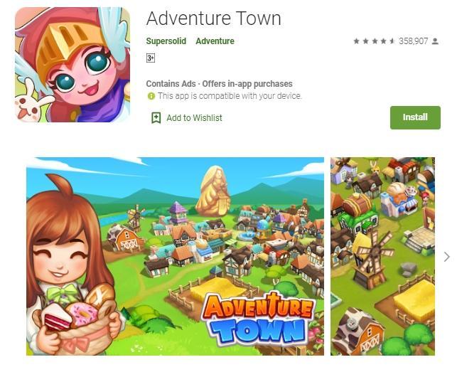 Game offline petualangan. (Play Store)