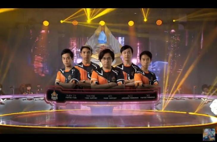 Burmese Ghouls di M2 World Championship 2020. (youtube/MLBB Indonesia)